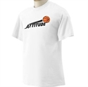 Picture of Attitudes - Adult White Tee