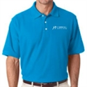 Picture of CHC - Platinum Honeycomb Pique Polo