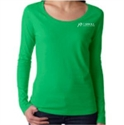 Picture of CHC - Sheer Scoop Long Sleeve T-Shirt