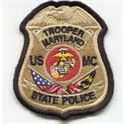 Picture of MSP/USMC - Twill Patch