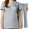 Picture of CH - Mock Wrap Scrub Set
