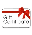 Picture of $25 Gift Certificate