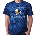 Picture of FCA - Navy Short Sleeve Tie Dye