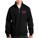 Picture of Check-Hers - 1/4 Zip Pullover