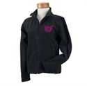 Picture of Check-Hers - Ladies Fleece Jacket