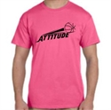 Picture of Attitude - Neon Pink T-Shirt