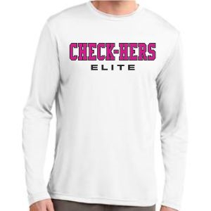 Picture of Check-Hers - Long Sleeve Competitor Tee