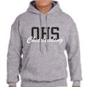 Picture of OCHEER - Grey Hooded Sweatshirt