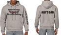 Picture of WMCheer - Grey Hooded Sweatshirt