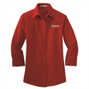 Picture of SEQ - Ladies 3/4 Sleeve Button Down