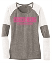 Picture of Check-Hers - New Era Ladies Tri-Blend Performance Baseball Tee