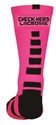Picture of Check-Hers - Neon Pink Socks