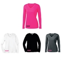 Picture of Check-Hers - Ladies' Long Sleeve Moisture Wicking