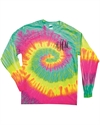 Picture of BI - Monogrammed Tie Dye T-shirt