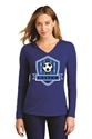Picture of WSAU - Ladies' Hooded Long Sleeve